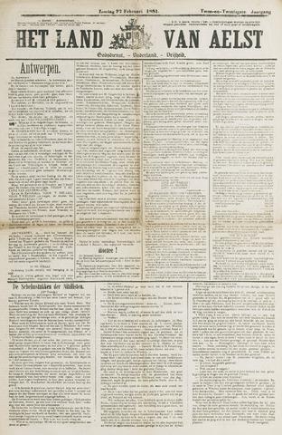 Het Land van Aelst 1881-02-27