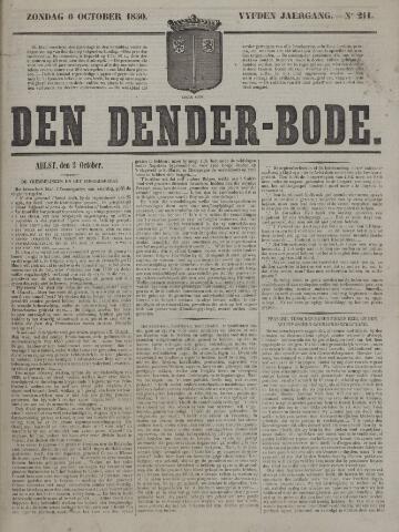 De Denderbode 1850-10-06