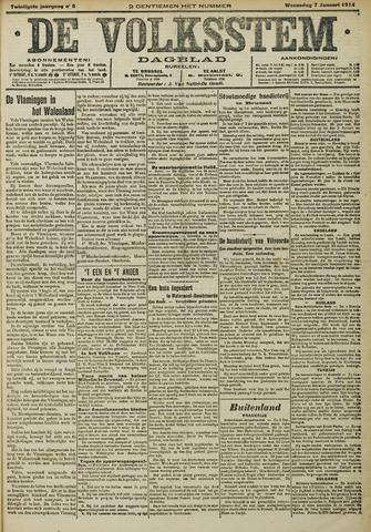 De Volksstem 1914-01-07