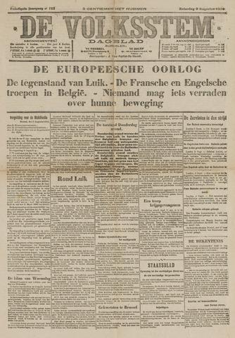De Volksstem 1914-08-08
