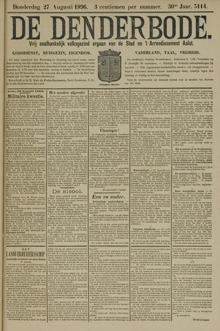 De Denderbode 1896-08-27