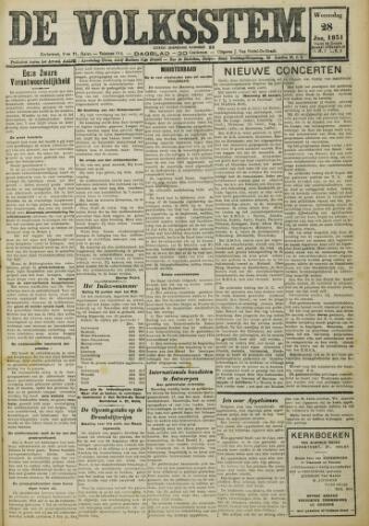 De Volksstem 1931-01-28