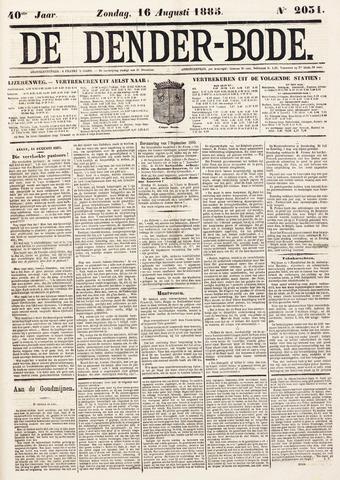 De Denderbode 1885-08-16