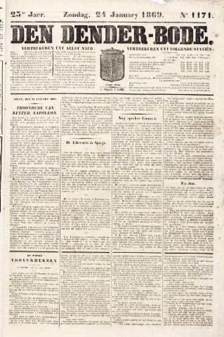 De Denderbode 1869-01-24