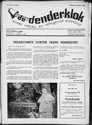 Denderklok 1966