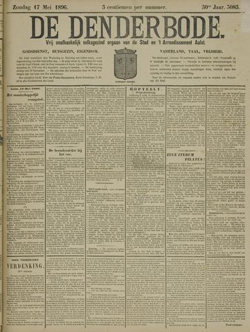 De Denderbode 1896-05-17