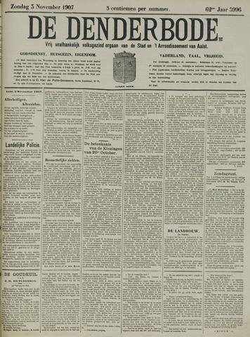 De Denderbode 1907-11-03