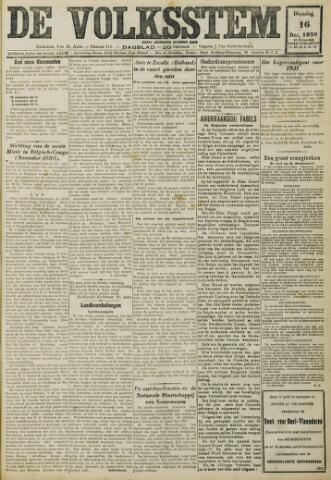 De Volksstem 1930-12-16