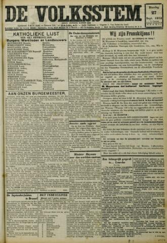 De Volksstem 1932-09-27