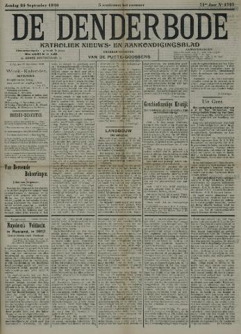 De Denderbode 1916-09-24