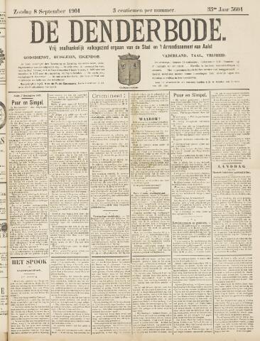 De Denderbode 1901-09-08