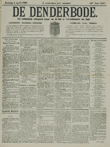 De Denderbode 1909-04-04