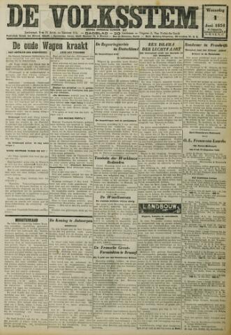De Volksstem 1932-06-01