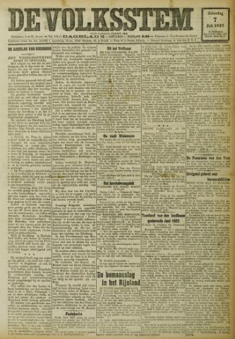 De Volksstem 1923-07-07