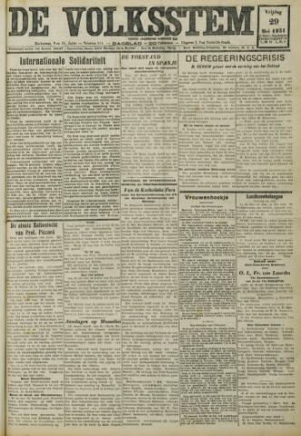 De Volksstem 1931-05-29