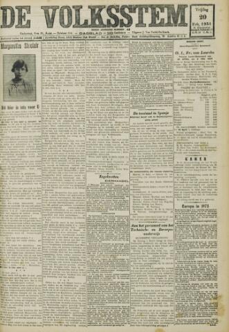De Volksstem 1931-02-20