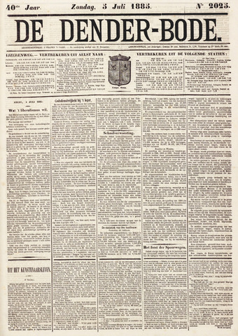 De Denderbode 1885-07-05