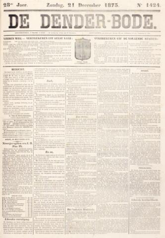 De Denderbode 1873-12-21