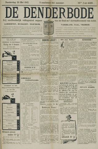 De Denderbode 1912-05-30