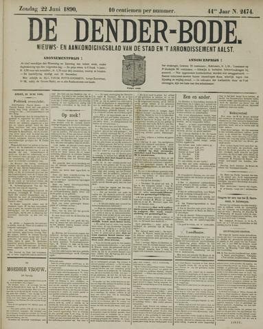 De Denderbode 1890-06-22