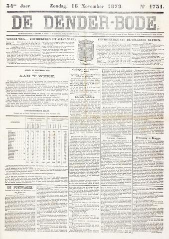 De Denderbode 1879-11-16