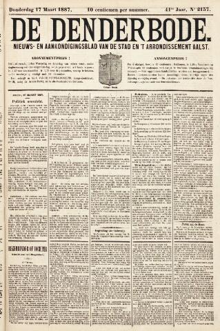 De Denderbode 1887-03-17