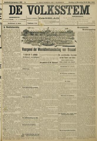 De Volksstem 1910-05-29