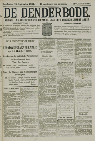 De Denderbode 1894-09-13