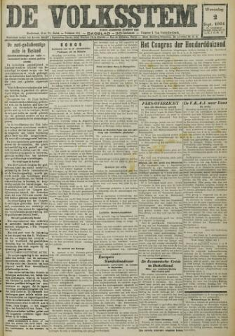 De Volksstem 1931-09-02
