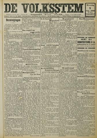 De Volksstem 1926-02-03