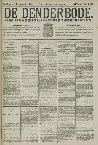 De Denderbode 1890-08-14