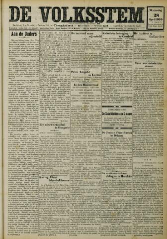 De Volksstem 1926-04-28
