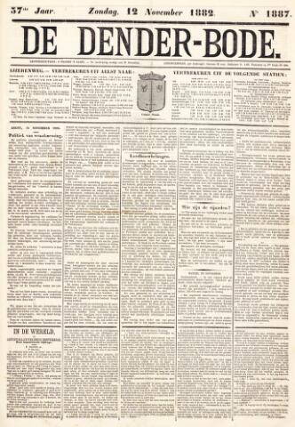 De Denderbode 1882-11-12
