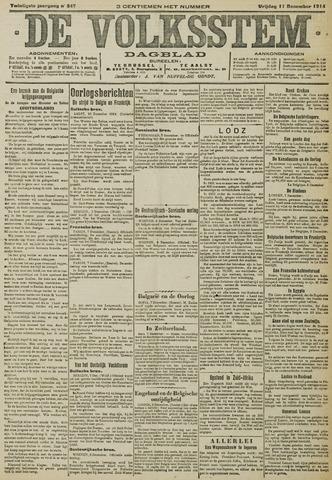 De Volksstem 1914-12-11