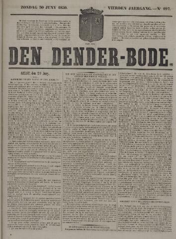 De Denderbode 1850-06-30