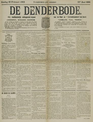 De Denderbode 1912-02-25