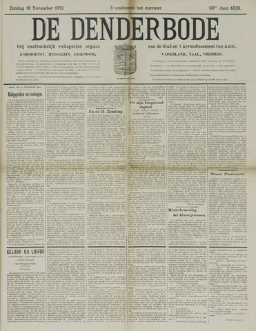 De Denderbode 1912-11-10