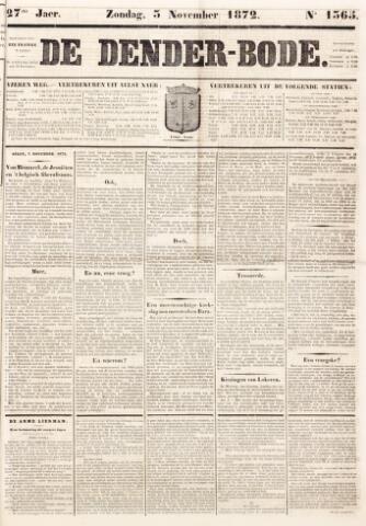 De Denderbode 1872-11-03