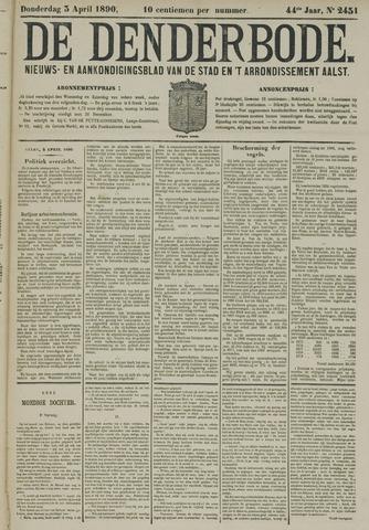De Denderbode 1890-04-03