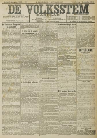 De Volksstem 1910-09-01