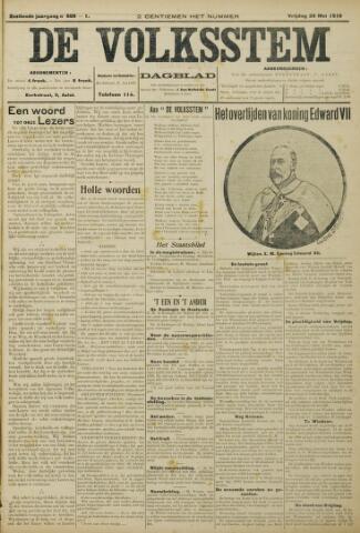 De Volksstem 1910-05-20