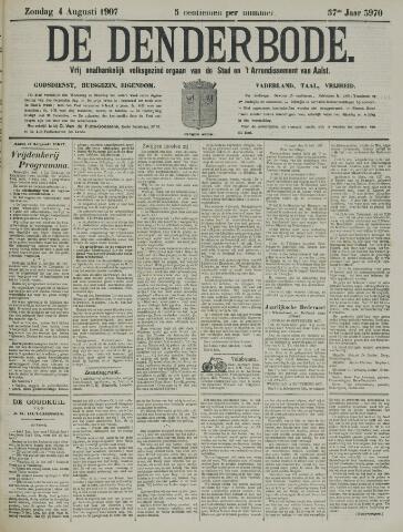 De Denderbode 1907-08-04