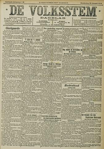 De Volksstem 1914-01-22