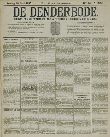 De Denderbode 1893-06-18