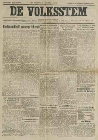 De Volksstem 1941-02-11