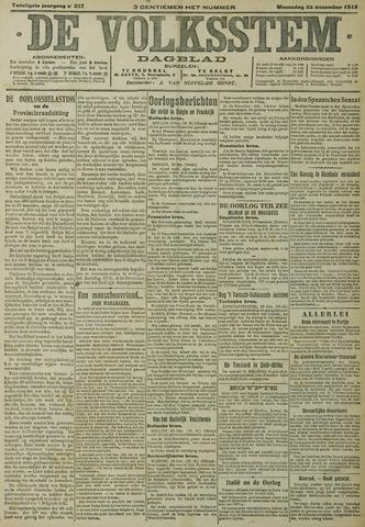 De Volksstem 1914-12-23