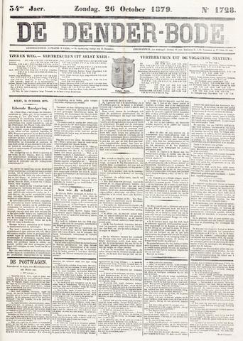De Denderbode 1879-10-26