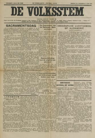 De Volksstem 1941-06-10