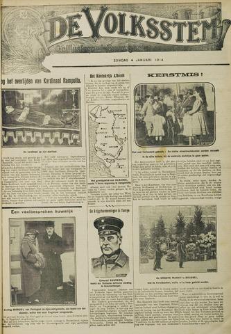 De Volksstem 1914-01-04