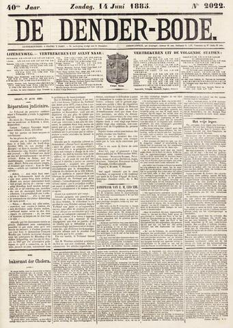 De Denderbode 1885-06-14